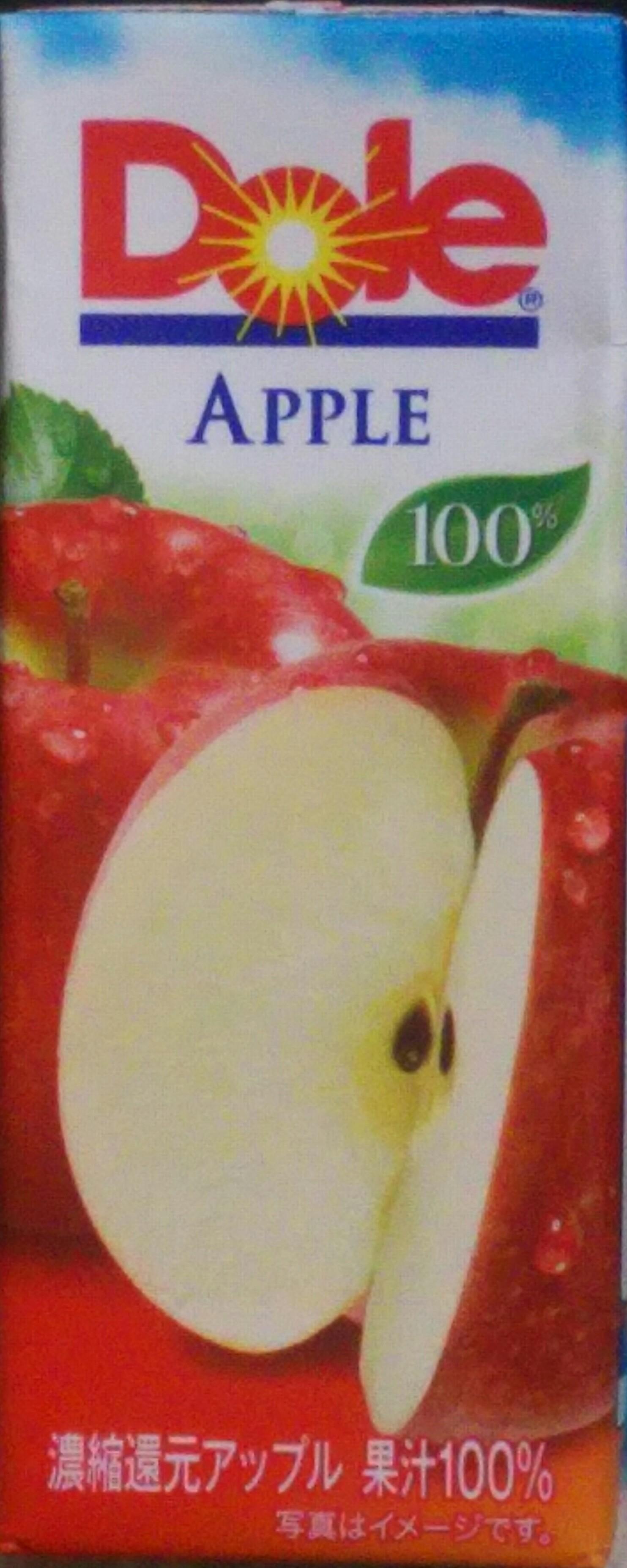 Dole®アップル100%(雪印メグミルク)感想・レビュー