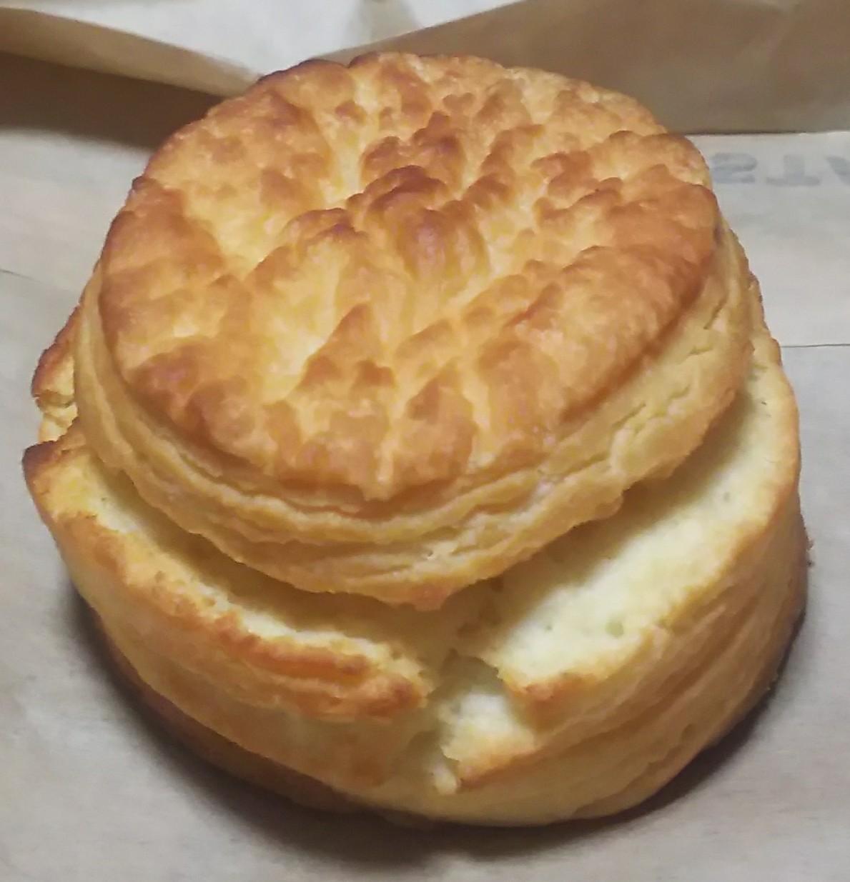 バターミルクビスケット(スターバックスコーヒー)感想・レビュー