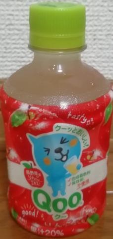 ミニッツメイド Qoo りんご(日本コカ・コーラ)感想・レビュー