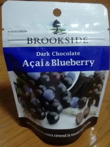 ブルックサイド ダークチョコレート アサイー&ブルーベリー(シーガルリンクス)感想・レビュー