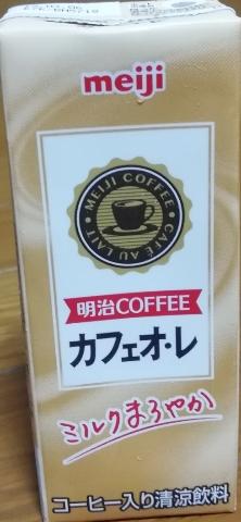 明治COFFEEカフェオ・レ(明治)感想・レビュー