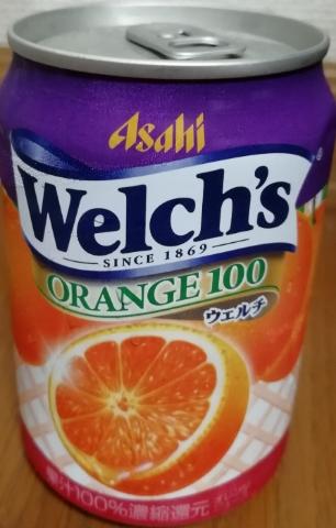 ウェルチ オレンジ100(アサヒ)感想・レビュー