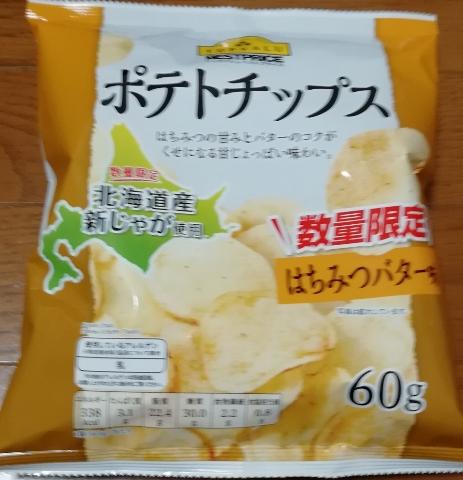ポテトチップス はちみつバター味(トップバリュ)感想・レビュー